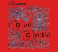 Cycling T Shirt - Road Cyclist by ProAmBike