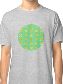 Yellow cross on green Classic T-Shirt