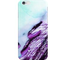 Light Blue Abstract Watercolor  iPhone Case/Skin