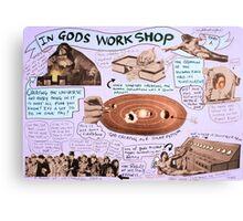 gods workshop Canvas Print