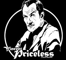 Vincent Priceless by Jeff Powers Illustration