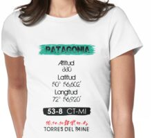 TORRES DEL PAINE Womens Fitted T-Shirt