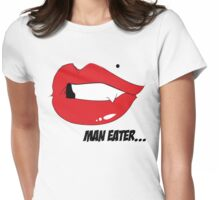 ManEater Womens Fitted T-Shirt