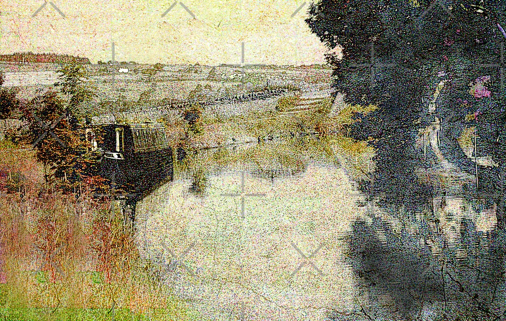 Abstract Barge by Catherine Hamilton-Veal  ©