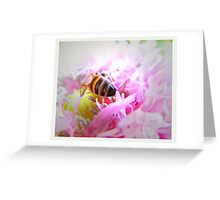 pollen drunk Greeting Card
