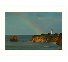 Nature's Spotlight, Airey's Inlet, Great Ocean Rd Art Print