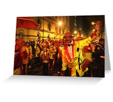 Cape Town Carnival 2 Greeting Card