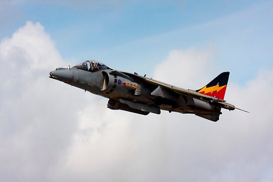 RAF Harrier GR9 by SWEEPER