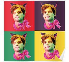 Gubler Cat popart Poster
