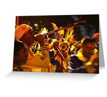Cape Town Carnival 3 Greeting Card