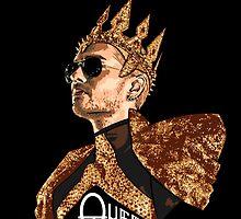 Queen Bill - White Text by Nobodysart
