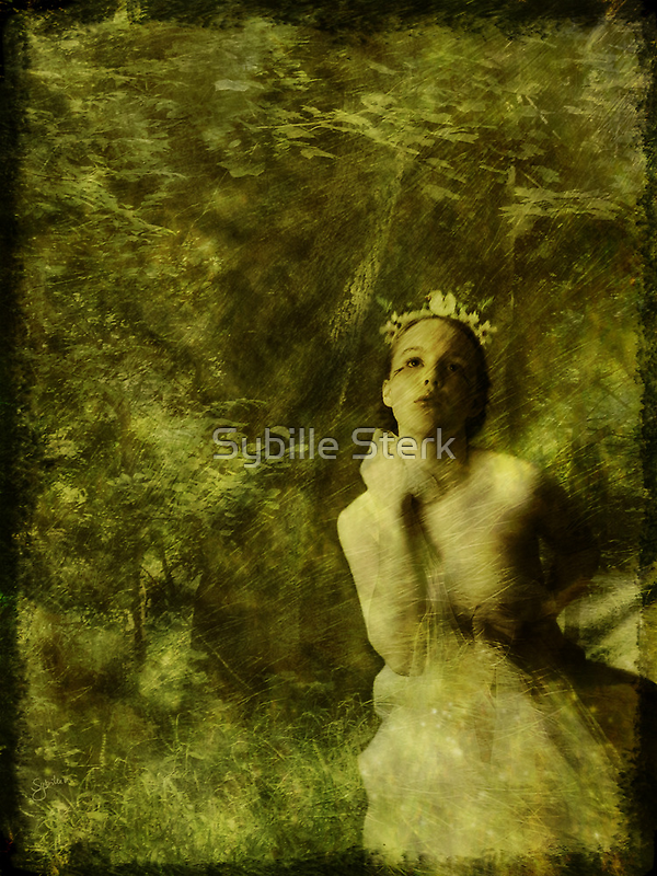 Wood Nymph by Sybille Sterk