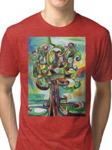 Lyrical Tree Tri-blend T-Shirt