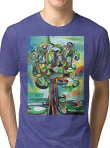 Lyrical Tree Tri-blend T-Shirt