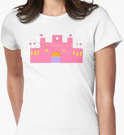 MHIMC PINK    T/SHIRT STICKER/BABY GROW Womens Fitted T-Shirt