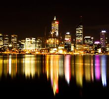 Perth City Lights by Andrew  Semark
