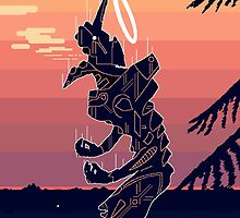 Pixel Art Eva by foxymoth