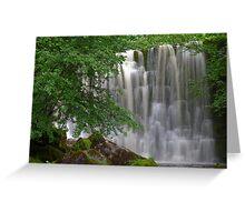 Scale Haw Waterfall Greeting Card