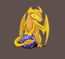 D20 Gold Dragon Unisex T-Shirt