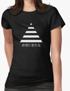 Triangle - Very Rare 非常にまれな Womens Fitted T-Shirt