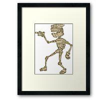 Michael Robot Framed Print