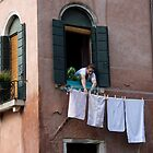 Life Goes On - Venice, Italy by Ruth Durose