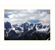 Stubaier Alps Art Print
