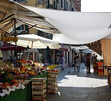 Fruit and Veg Stall - Venice, Italy by Ruth Durose