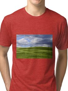 Green hills in Tuscany Tri-blend T-Shirt