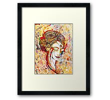 Coloured memories  Framed Print