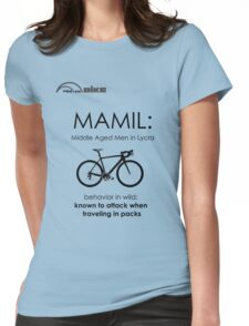 Cycling T Shirt - MAMIL (middle aged men in lycra) Behavior Womens Fitted T-Shirt