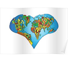 Learn to love our world Poster