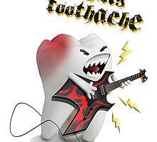 Raging toothache by pawadubai