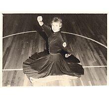 No.3 Benton Indians Cheerleader (no year listed) Photographic Print