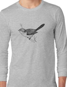 Vintage Bird Long Sleeve T-Shirt