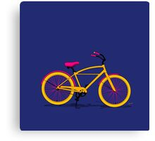 Happy Bike Canvas Print