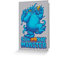 CTHOOKIE MONSTER Greeting Card