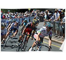 Matthew Lloyd leads Lance Armstrong Poster