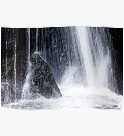 Lakeland Waterfall Poster
