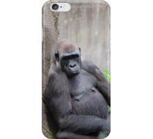 Lazy Gorilla iPhone Case/Skin