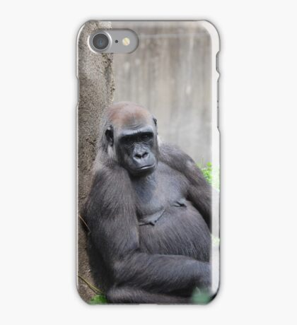 Lazy Gorilla iPhone Case/Skin