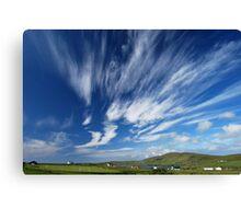 magic sky Canvas Print