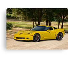2008 Corvette Z06 Coupe Canvas Print
