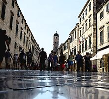 Dubrovnik main street 2 by mickwarkcup
