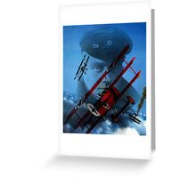 The Red Baron Greeting Card