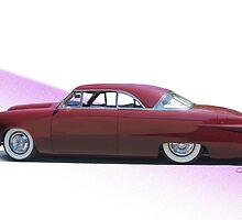 1951 Ford Custom Victoria  by DaveKoontz