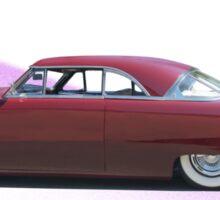 1951 Ford Custom Victoria  Sticker