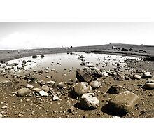 eshaness in semi-tones Photographic Print