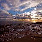 Burns Beach sunset by FLYINGSCOTSMAN
