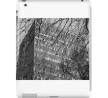 Crouch Hill block and bare trees, posterized iPad Case/Skin